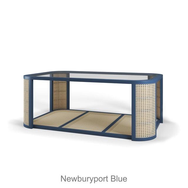Contemporary Lola Coffee Table - Newburyport Blue For Sale - Image 3 of 3