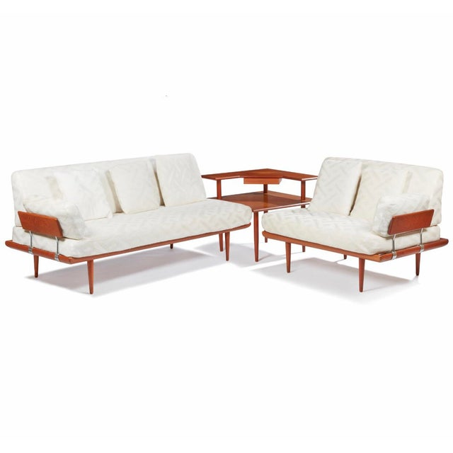 Mid Century Frank and Son Danish Teak Sofa Sectional For Sale - Image 4 of 4