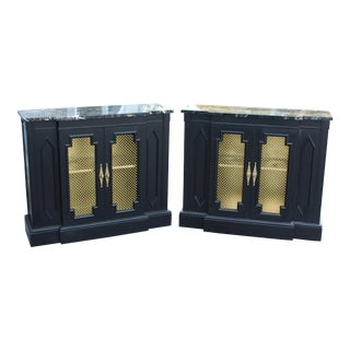 20th Century Regency Cabinets - a Pair For Sale