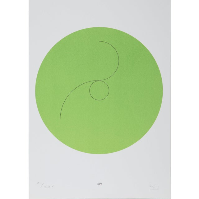 """Max Bill, """"Constellations Xiv"""", Geometric Lithograph For Sale In New York - Image 6 of 6"""