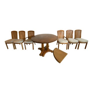 Vintage Accolade by Drexel Mid Century Modern Dining Set - 7 Pieces For Sale