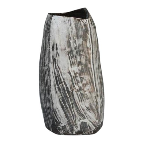 Kang Hyo Lee, Puncheong Jar With Ash Glaze 6, Ca. 2012 For Sale