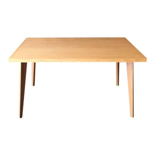 Mid-Century Modern Custom Oak Dining Table For Sale