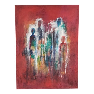 "Original Susanne Frenzel ""In My Soul"" Oil Painting For Sale"
