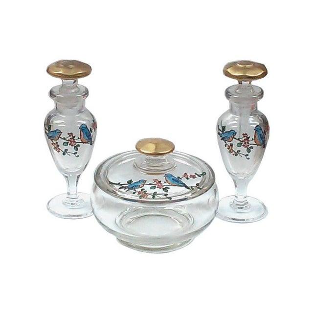Art Deco Vanity Set-Three Pieces - Image 1 of 6