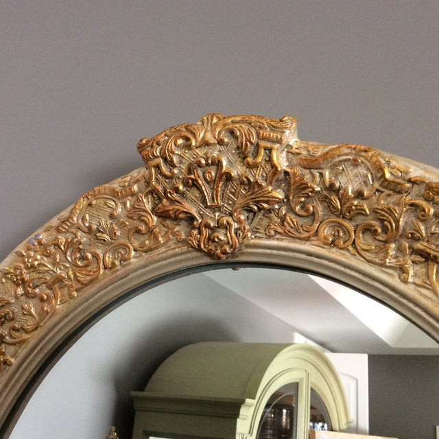 Carvers Guild White Pearl and Gold Mirror - Image 7 of 9