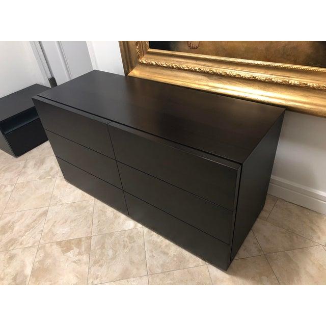 Design Within Reach Leggier 6-Drawer Dresser Dark Brown