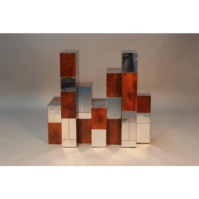 Paul Evans Cityscape Dining Table Base - Image 2 of 8
