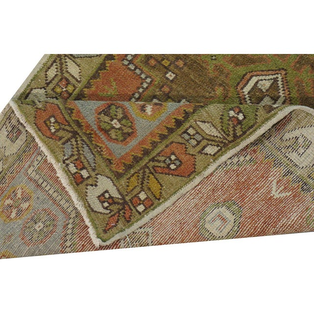 Vintage Turkish Oushak Rug - 3′ × 5′8″ - Image 3 of 3