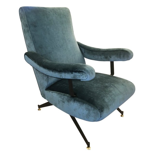 Reclining Lounge Chair by Formanova For Sale - Image 5 of 6