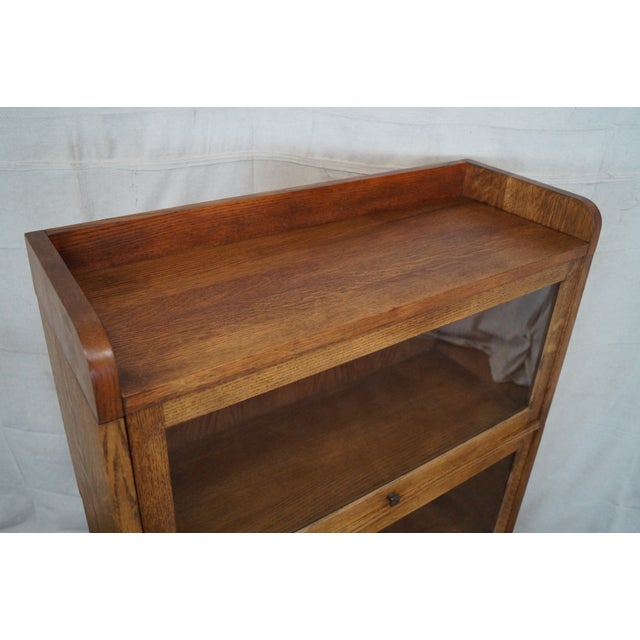 Stickley Mission Oak Stacking Barristers Bookcase - Image 5 of 10