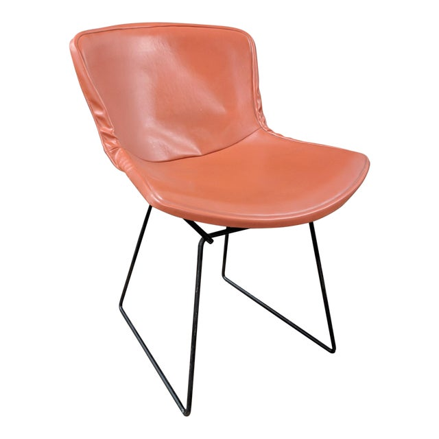 Vintage Knoll Bertoia Early 80s Side Chair For Sale