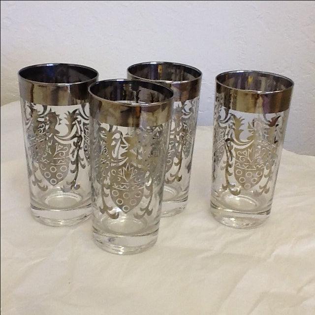 Vintage Kimiko Highball Glasses - Set of 4 - Image 2 of 4