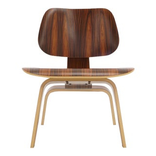 2007 Special Edition Eames Lcw in Santos Palisander For Sale