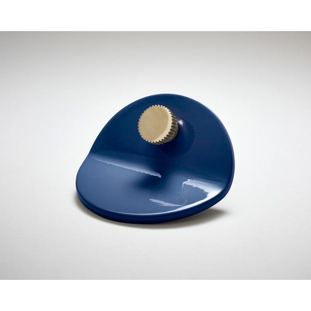 Modern Nest Studio Collection Geo-C-01 Navy Pull For Sale - Image 3 of 3