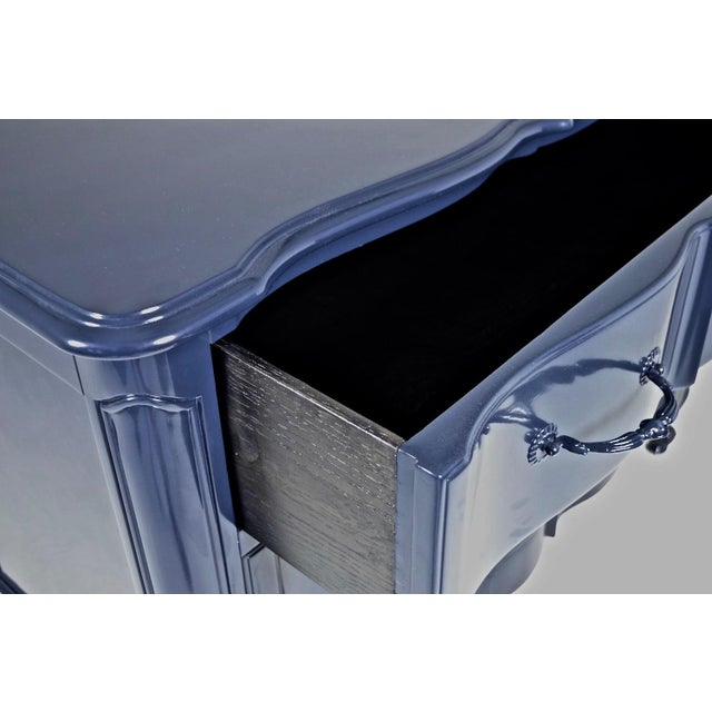 Blue Lacquered French Style Commode - Image 2 of 9