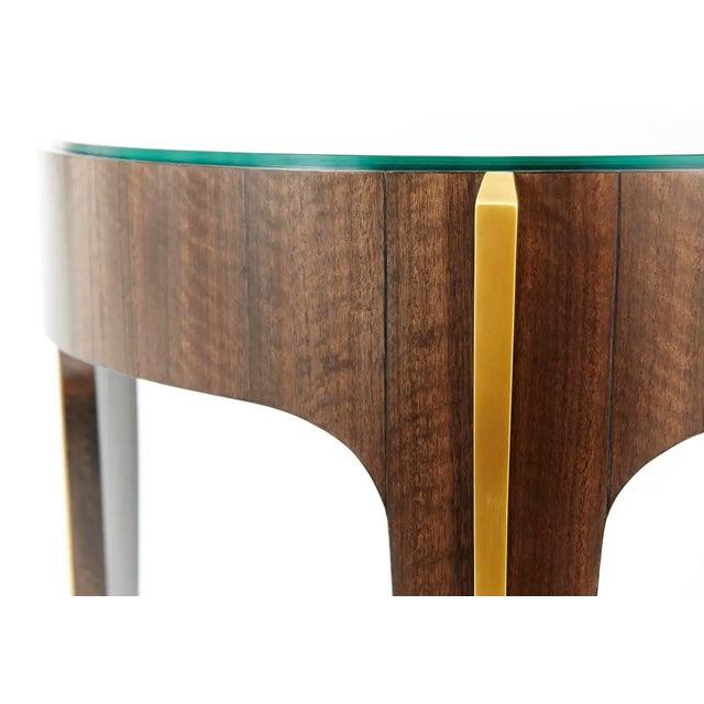 Art Deco Loggia Showroom Art Deco Modern Side Table For Sale - Image 3 of 4