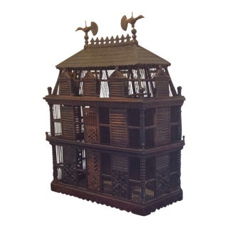 1860 Victorian Bird Cage For Sale