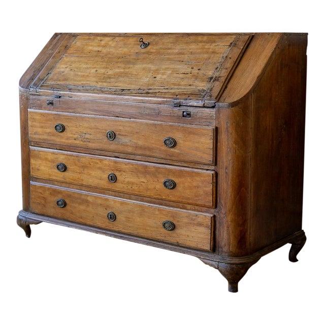 18th Century Italian Antique Drop Front Desk - 18th Century Italian Antique Drop Front Desk Chairish