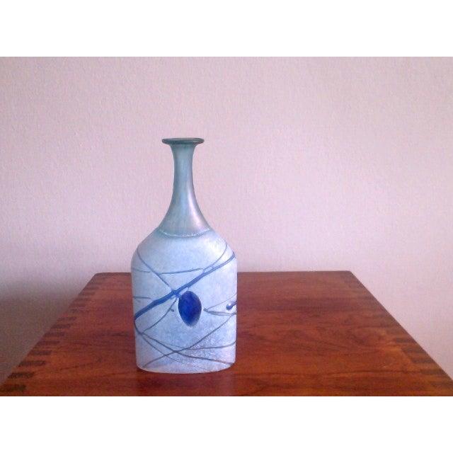 Bertil Vallien Galaxy Kosta Boda Bottle Vase - Image 3 of 6