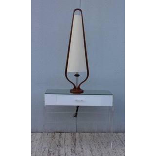 Modeline Tall Walnut Table Lamp Preview