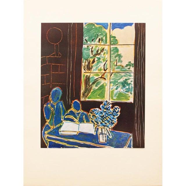 Lithograph 1947 Henri Matisse, Original Period Interieur Lithograph For Sale - Image 7 of 8