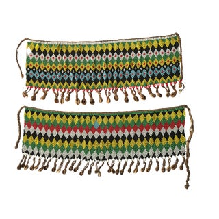 Apron Skirt Kirdi Beaded Ceremonial Pikuran For Sale