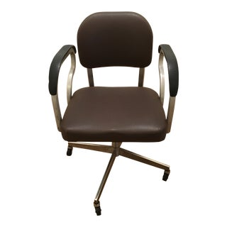 1960s Vintage Rolling Office Chair For Sale