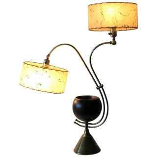 Atomic Age Adjustable Mid-Century Modern Majestic Lamp 1950s For Sale