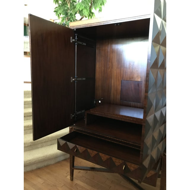 Modern 1990s Maitland Smith Armoire For Sale - Image 3 of 13