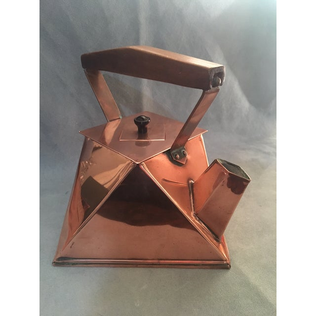 Cubist Copper Kettle For Sale In Washington DC - Image 6 of 10