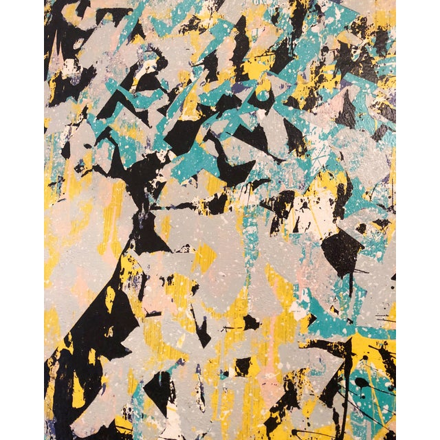 Fantastic Large Abstract Painting.