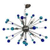 Image of Contemporary Murano Glass Triedo Sputnik Chandelier For Sale