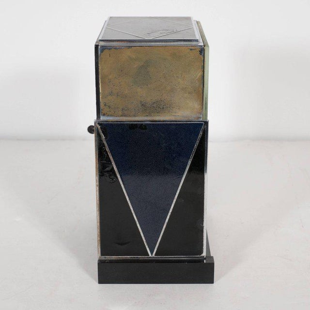 """Mid-Century Modern """"Modernique"""" Clock by Paul Frankl for Warren Telechron Company, circa 1928 For Sale - Image 3 of 9"""