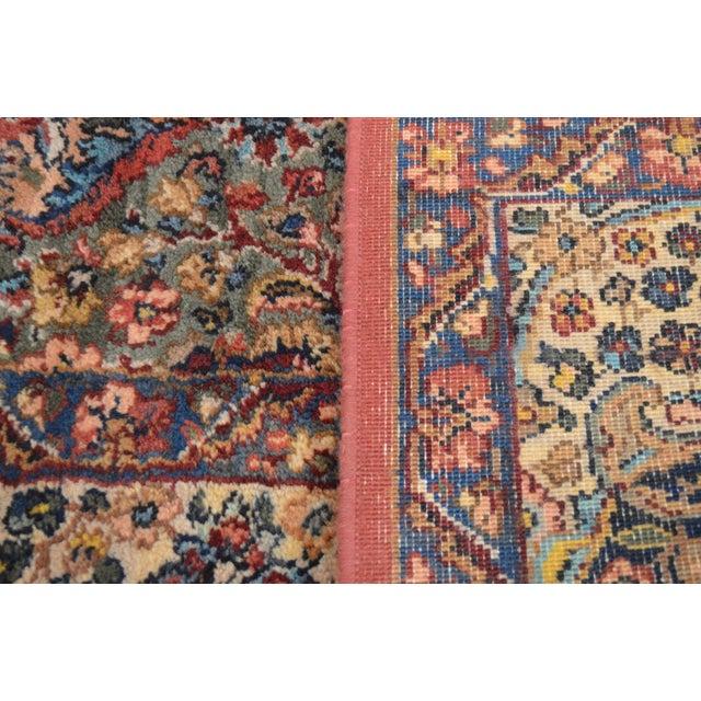 Karastan 8.8x12 Multicolor Panel Kirman Room Size Rug # 717 For Sale - Image 12 of 13