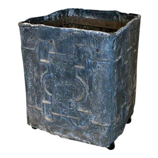 English Lead Cistern For Sale