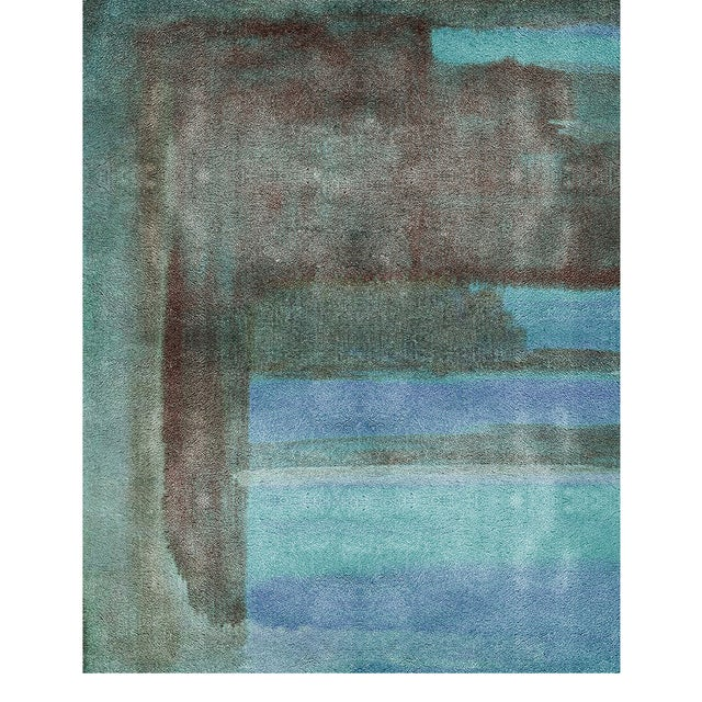 Modern Covet Paris Riviera Neutral Rug - 6′7″ × 9′10″ For Sale - Image 3 of 3