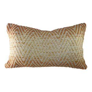 Woven Zig Zag Pillow Cover For Sale