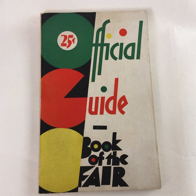 1933 Official Guide Book Chicago World's Fair Book For Sale - Image 13 of 13