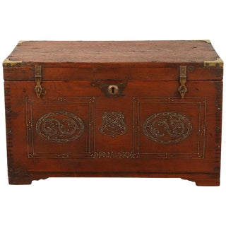 Burmese Ladies Make-Up Trunk For Sale
