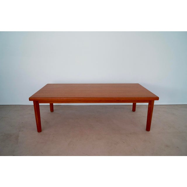 1960's Vintage Danish Modern Vejle Stole Teak Coffee Table ...