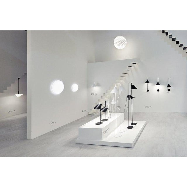 Louis Poulsen GamFratesi Black 'Yuh' Brass and Marble Floor Lamp for Louis Poulsen For Sale - Image 4 of 5