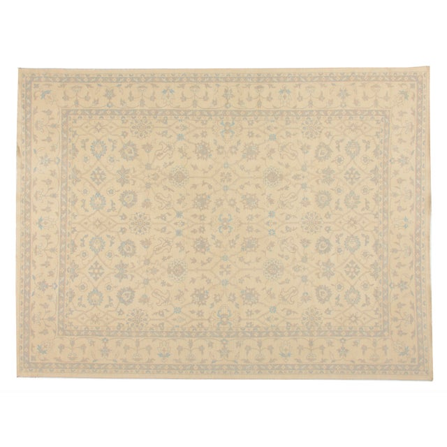 STARK Traditional New Oriental Oushak Wool Rug To care for your rug, it's best to have your rug cleaned by professionals...
