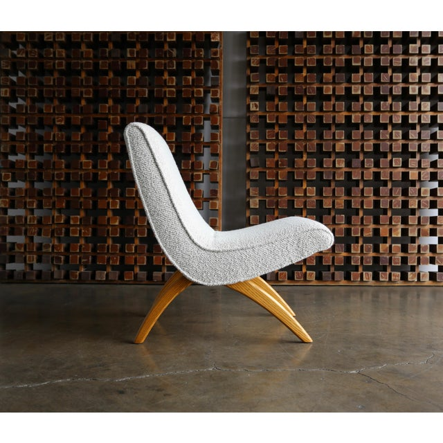 Mid 20th Century Milo Baughman Scoop Chairs for Thayer Coggin Circa 1955 - a Pair For Sale - Image 5 of 13
