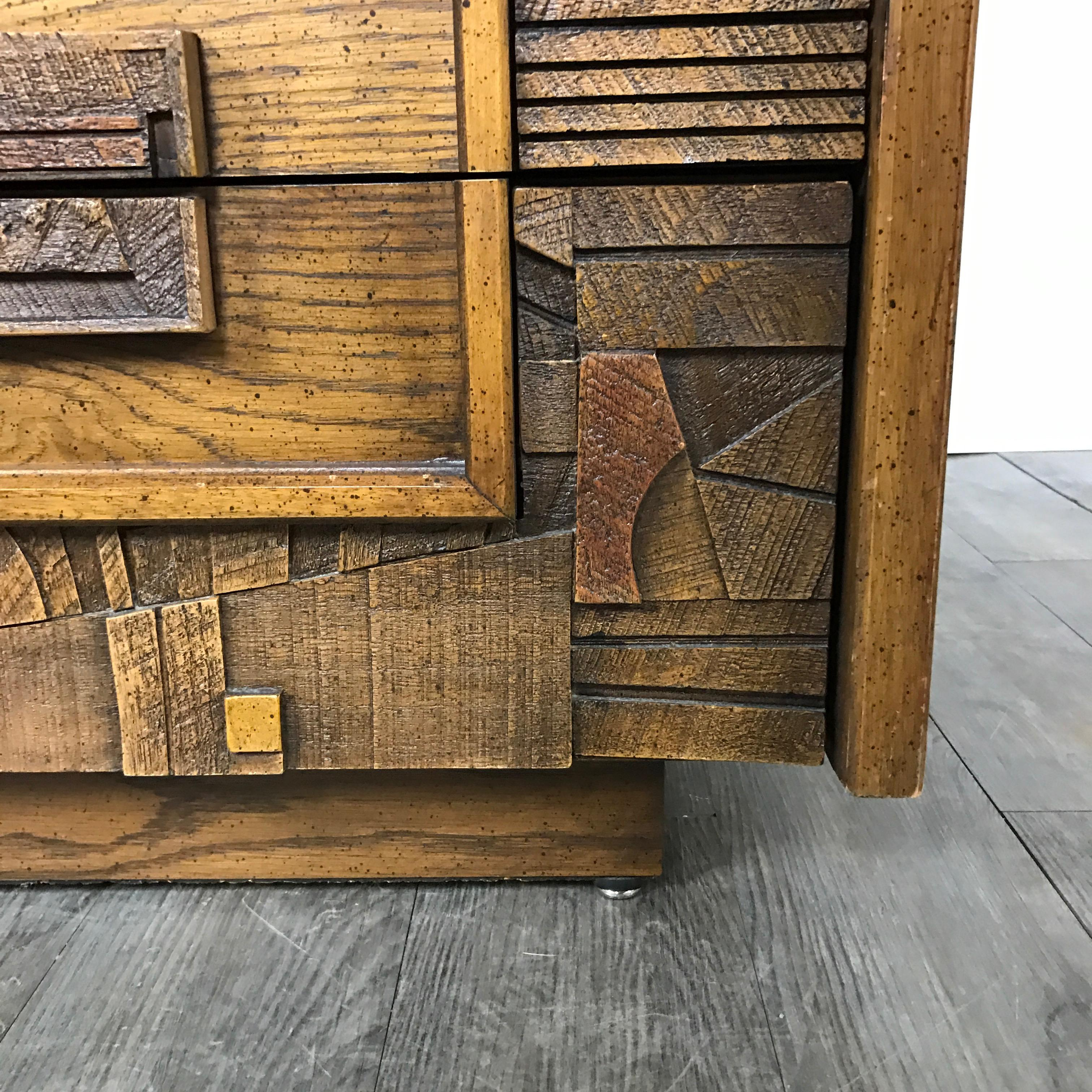 Lane Furniture Brutalist Armoire   Image 7 Of 9