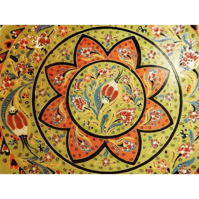 Turkish Hand Painted Ottoman Bowl - Image 5 of 10