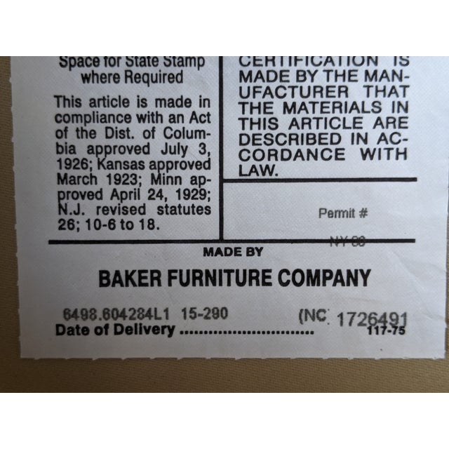 Barbara Barry for Baker Furniture Salon Chairs - a Pair For Sale - Image 12 of 13