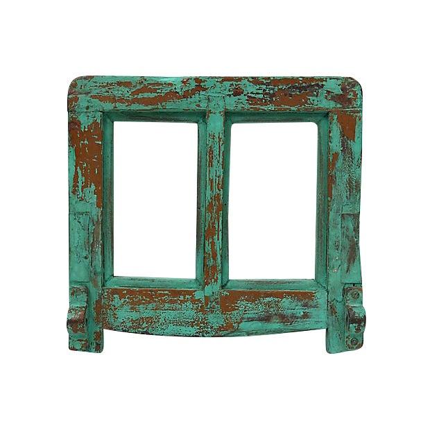 Antique Mirror W/Optional Towel Bar For Sale