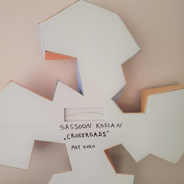 """Sassoon Kosian """"Crossroads"""" Wall Sculpture For Sale - Image 9 of 9"""