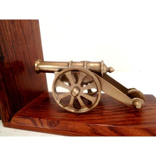 1960's Brass Cannon Bookends Preview